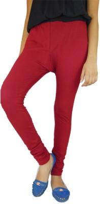 BVOS Women's Maroon Leggings