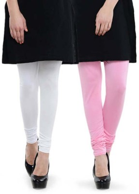 Abito Juniors Women's Pink, White Leggings
