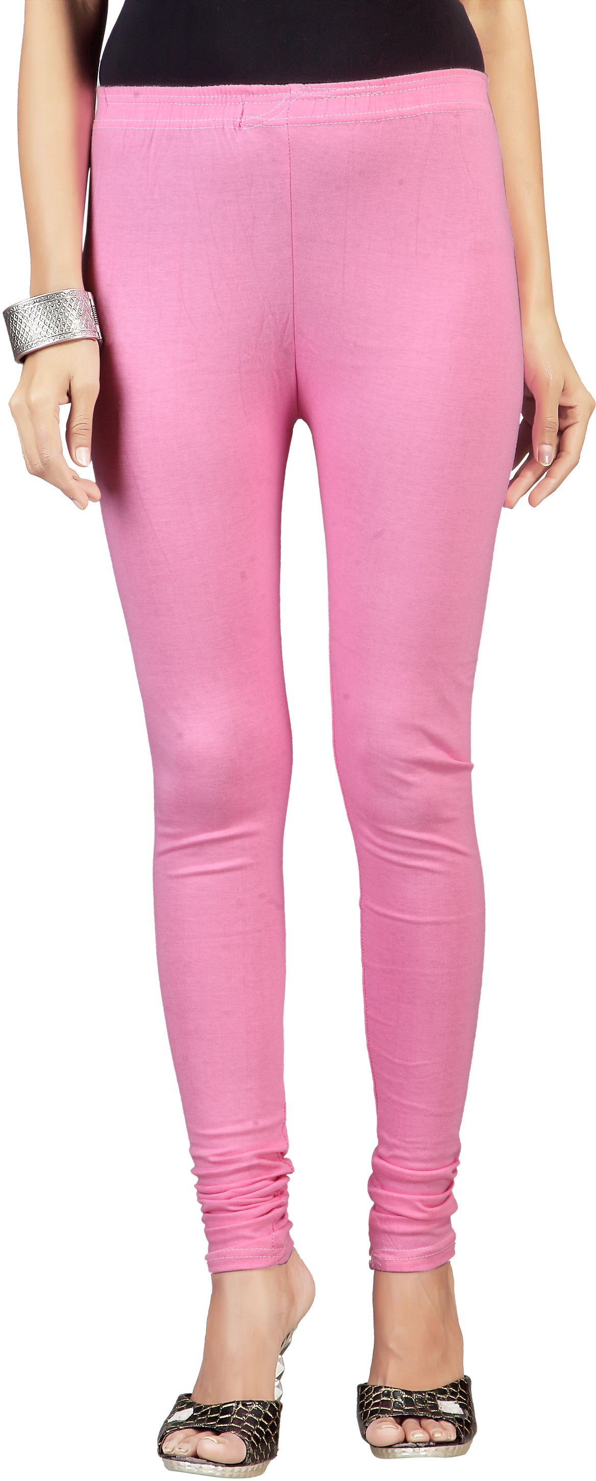Ambrai Womens Pink Leggings