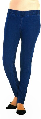 Ebony Women's Dark Blue Jeggings