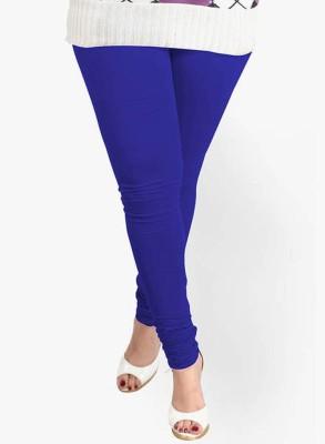 V Brown Women's Blue Leggings
