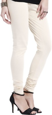 shreemangalammart Girl's Beige Leggings