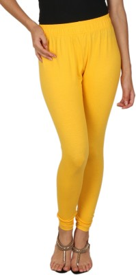 A N, E Women's Yellow Leggings