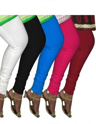 Tele Queen Girl's Multicolor Leggings