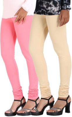 Greenwich Women,s Pink, Beige Leggings