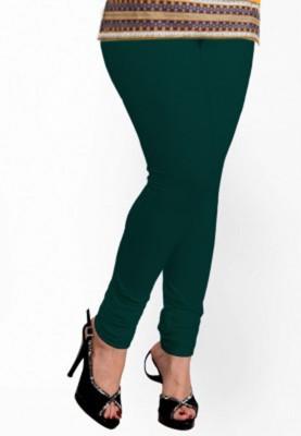 Vrshoppers Women's Green Leggings