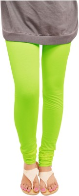 Leggings World Women's Light Green Leggings