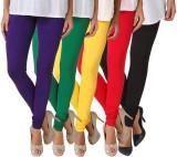 Fasense Women's Multicolor Leggings (Pac...