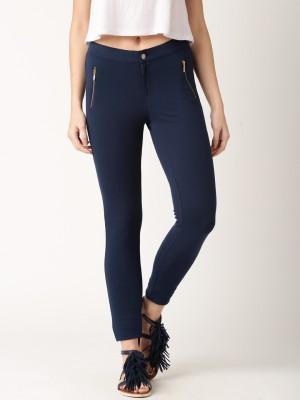 Dressberry Women's Dark Blue Leggings