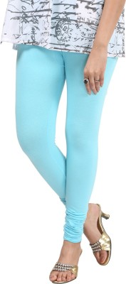 Sohniye Women's Light Blue Leggings