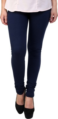 Hashcart Women's Dark Blue Leggings