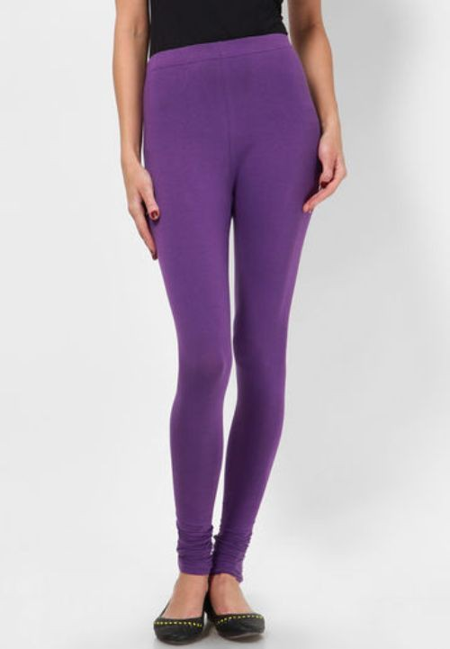 Not Bad Womens Purple Leggings