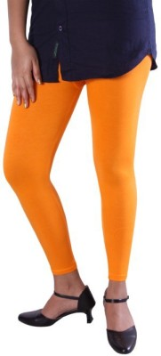 Unicraft Women's Orange Leggings