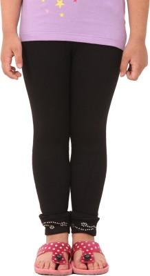 Vostro Moda Girl's Black Leggings
