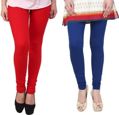Vastra Buzz Women's Blue, Red Leggings