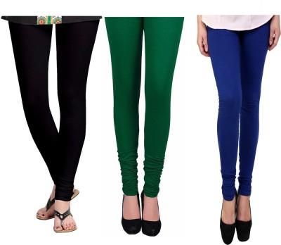 Vastra Buzz Women's Black, Green, Dark Blue Leggings