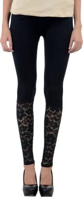 Numbrave Women's Black Leggings