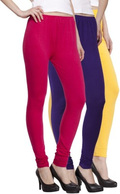 VENUSTAS Women's Gold, Dark Blue, Silver Leggings