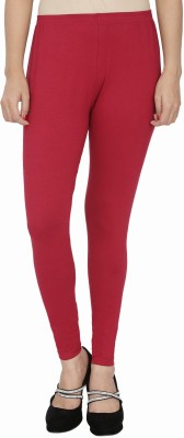 Anekaant Girl's Maroon Leggings