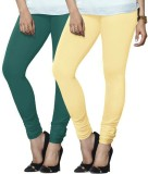 Arma Women's Green, Beige Leggings (Pack...