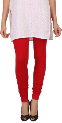 Womens Cottage Women's Red, Pink Leggings