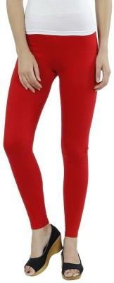 CP Bigbasket Women's Red Leggings