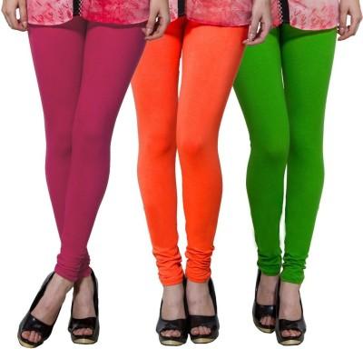 Both11 Women's Pink, Orange, Green Leggings