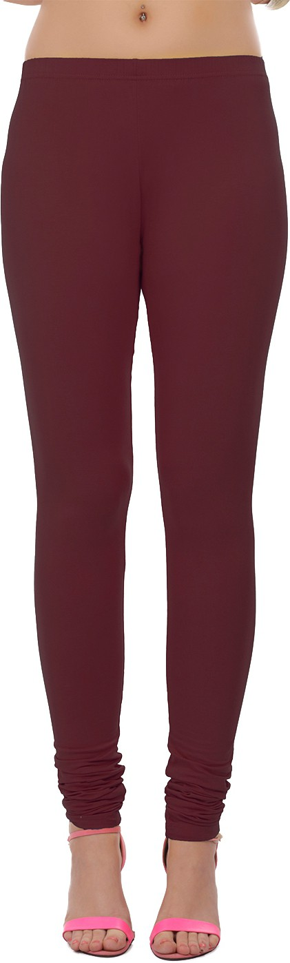 Sonari Womens Maroon Leggings