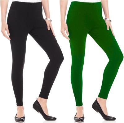Kamuk Life Women's Black, Green Leggings