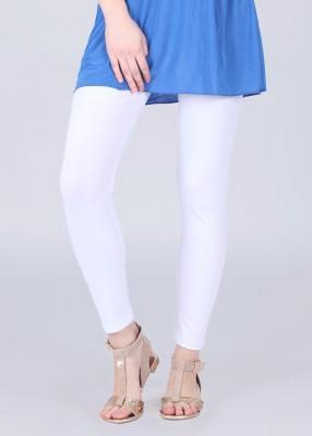 N-Gal Women's White Leggings