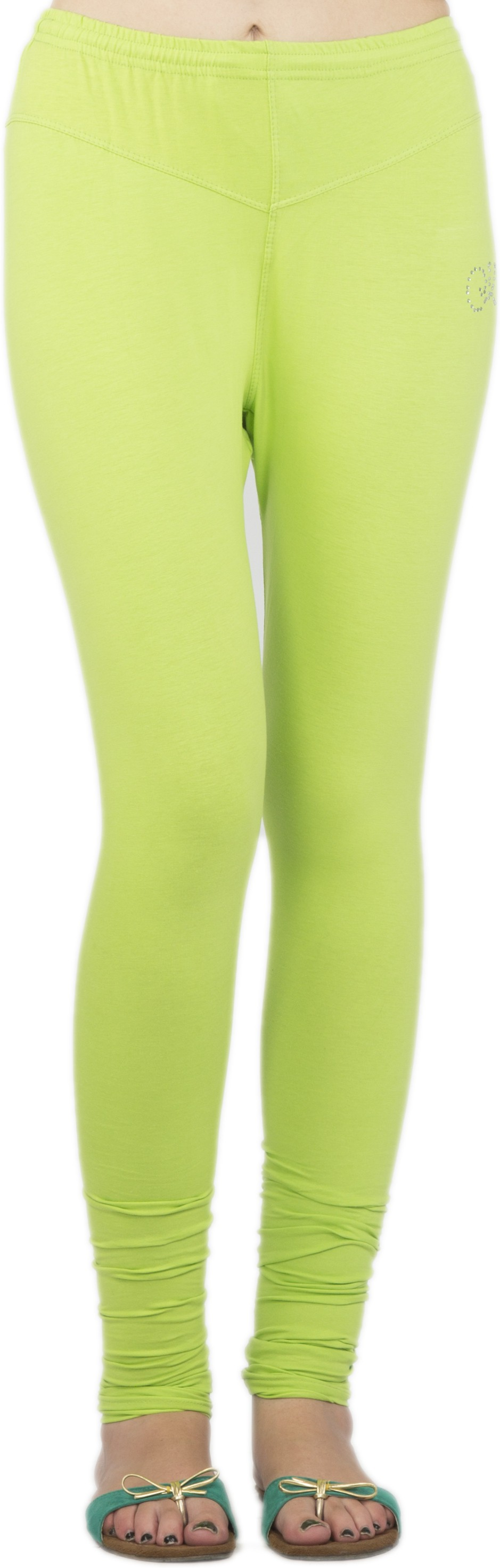 Jublee Womens Green Leggings