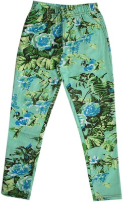 Garlynn Girls Green Jeggings
