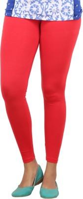 Bottoms More Women's Red Leggings