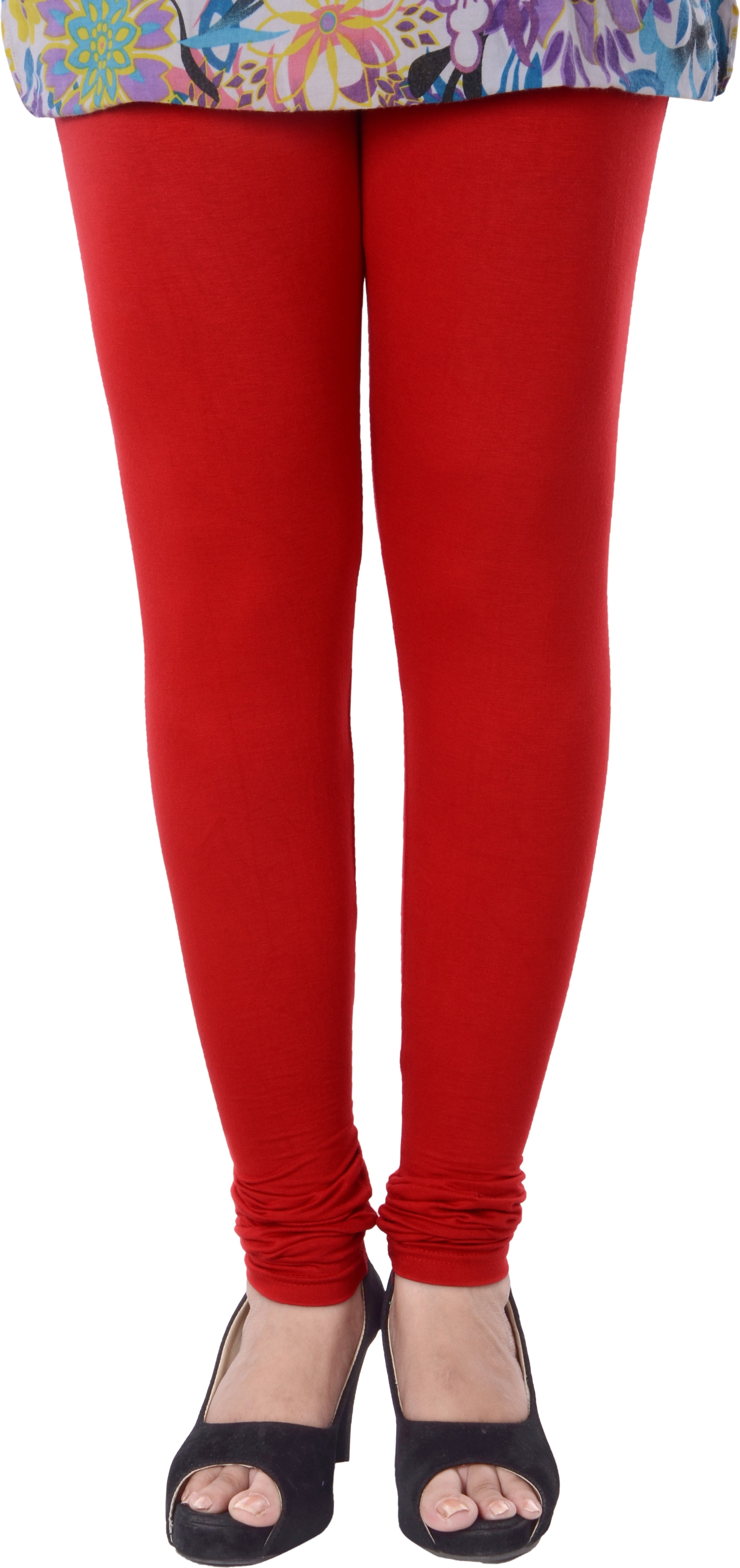 Grafion Womens Red Leggings
