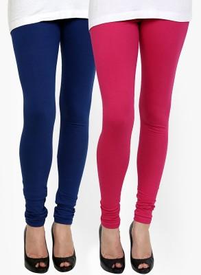 Addline Women's Blue, Pink Leggings