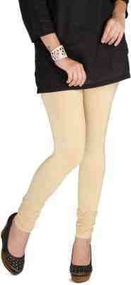 Sakal Enterprises Women's Beige Leggings