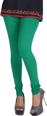 DORA Women's Dark Green Leggings