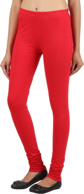Notyetbyus Women's Red Leggings