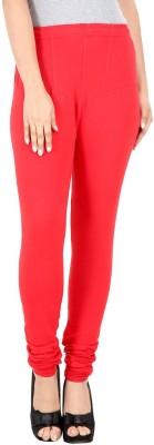 Custom Creation Women's Red Leggings