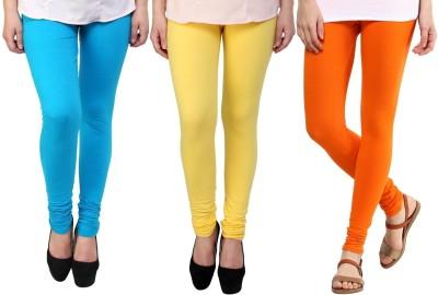 Legemat Girl,s Blue, Yellow, Orange Leggings