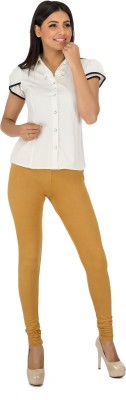 Legrisa Fashion Women's Gold Leggings