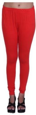 Austrich Women's Red Leggings