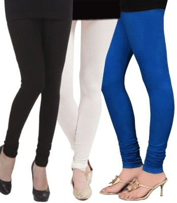 CP Bigbasket Women's Blue, Black, White Leggings