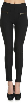 Ozel Studio Women's Black Jeggings