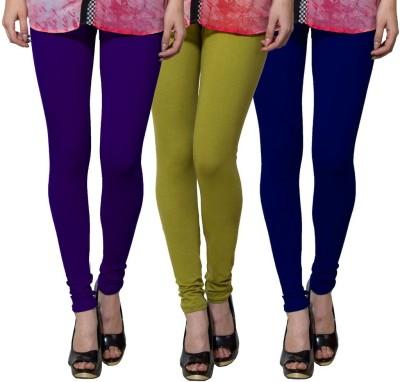 Both11 Women's Purple, Light Green, Blue Leggings