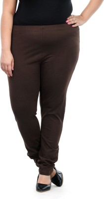 PlusS Women's Brown Leggings