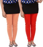 carrol Women's Red Leggings (Pack of 2)