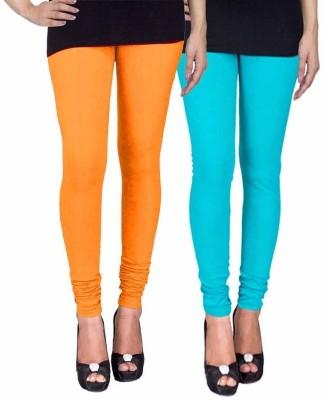 Ayesha Fashion Women's Yellow, Blue Leggings