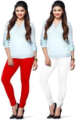 Amul Florio Women's Red, White Leggings
