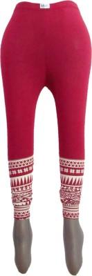 Revin Fashions Women's Maroon Leggings